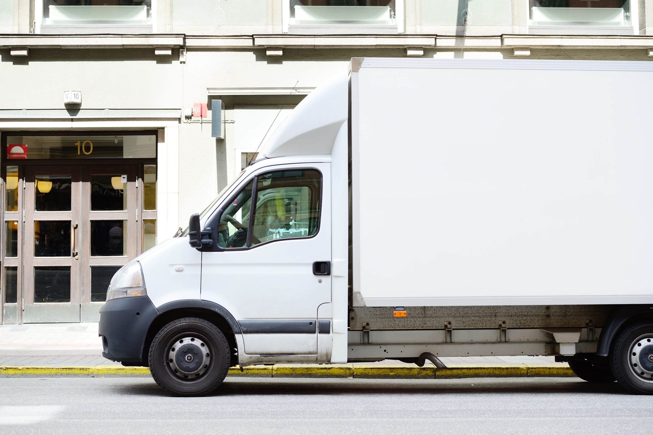 mobile storage truck