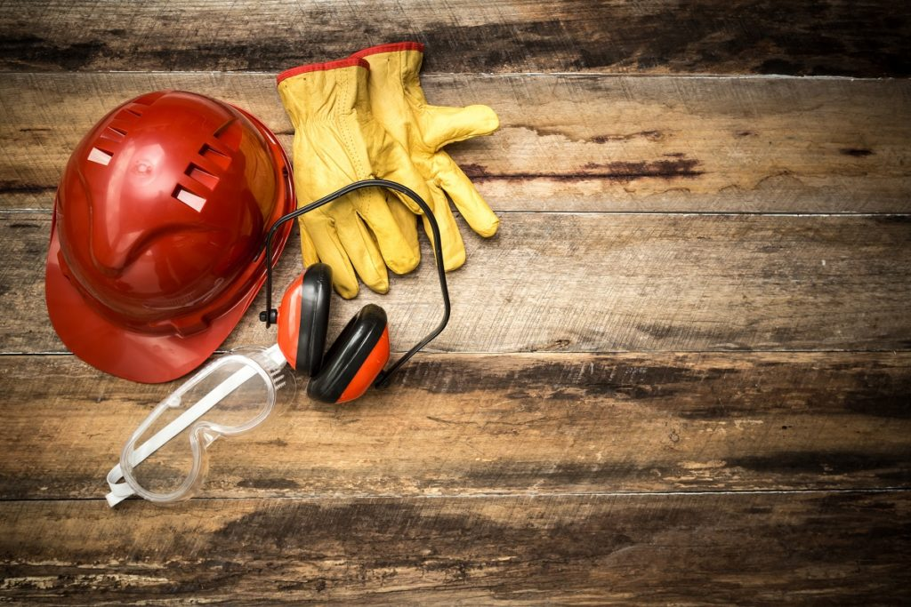 protective gear for construction work