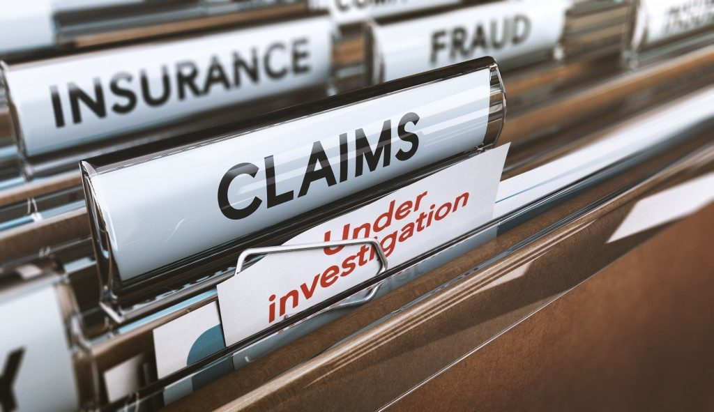 filed insurance claimes